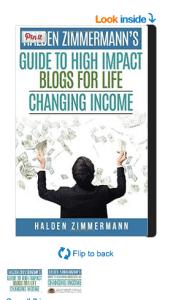 Halden Zimmermann Book